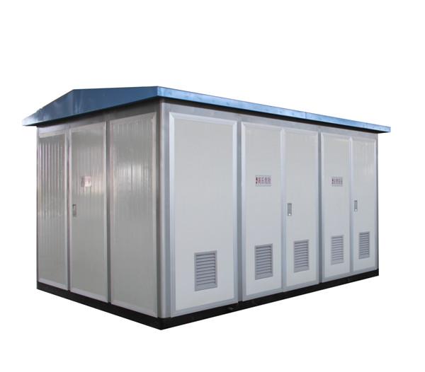 bkxb1-12系列箱式变电站,具有成套性强,体积小,结构紧凑,运行安全图片